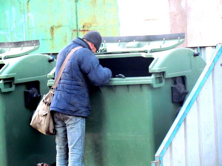 Жизнь мариупольских бездомных, фото-5