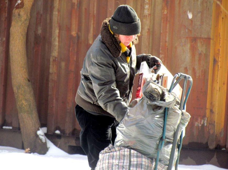Жизнь мариупольских бездомных, фото-13