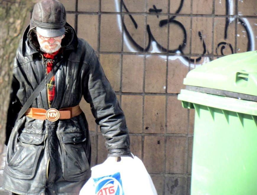 Жизнь мариупольских бездомных, фото-11