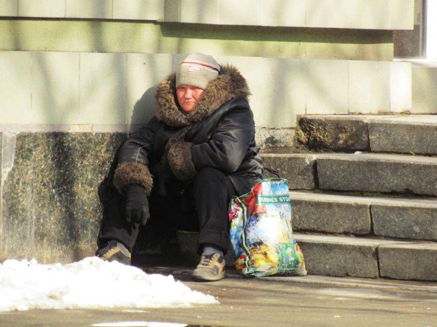 Жизнь мариупольских бездомных, фото-14