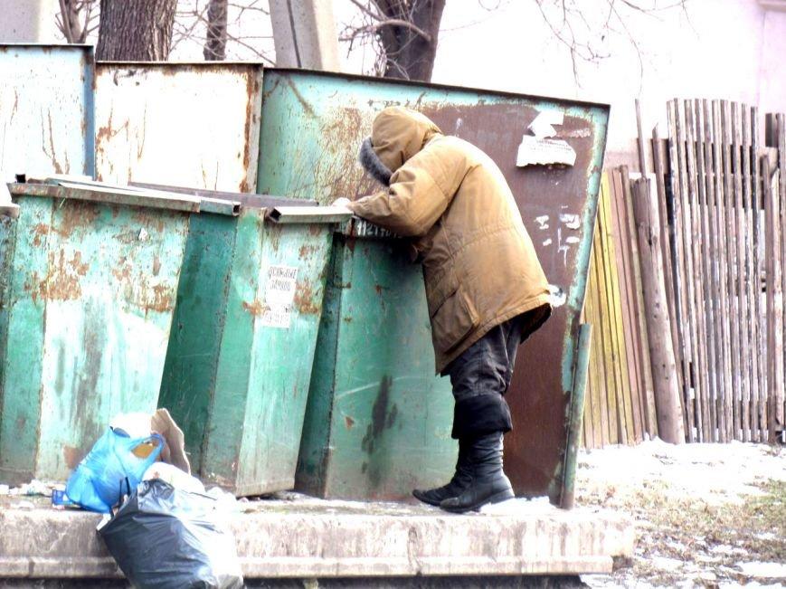 Жизнь мариупольских бездомных, фото-12