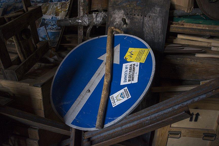 Экскурсия по музею Майдана: революционные артефакты и их история (ФОТОРЕПОРТАЖ), фото-19
