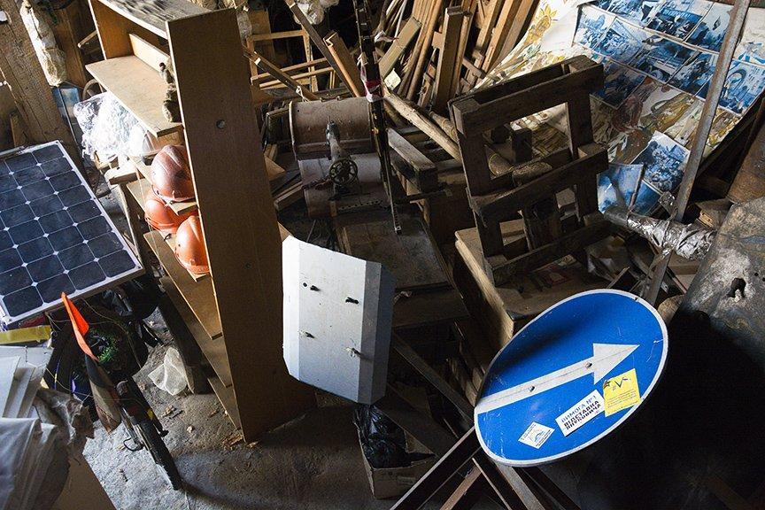 Экскурсия по музею Майдана: революционные артефакты и их история (ФОТОРЕПОРТАЖ), фото-9