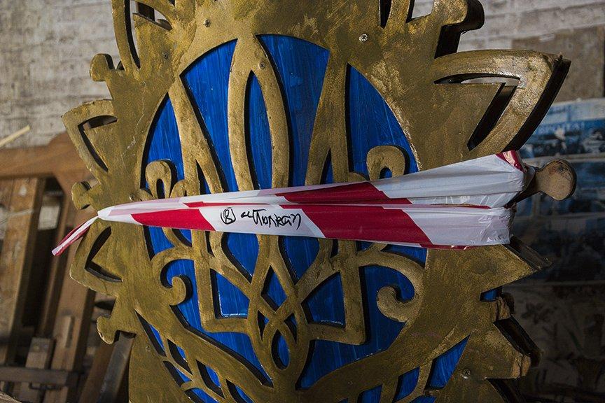 Экскурсия по музею Майдана: революционные артефакты и их история (ФОТОРЕПОРТАЖ), фото-21