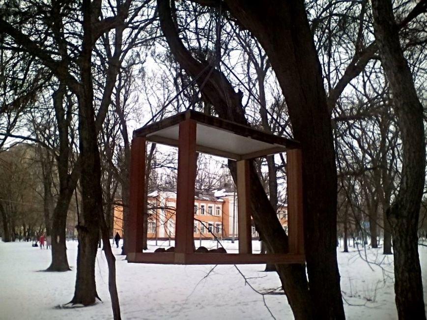 """Дети открыли """"столовые"""" для пернатых и мелких зверей (фото), фото-9"""