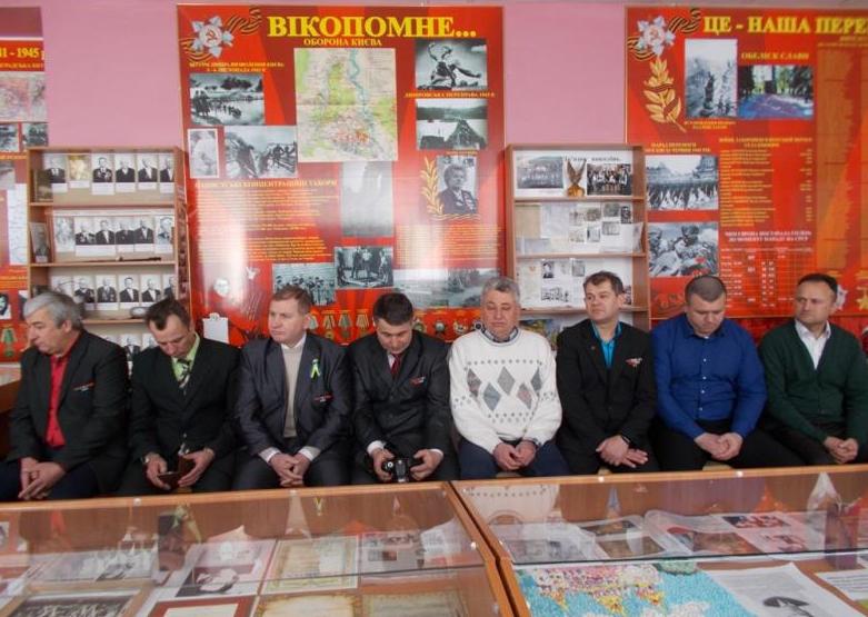 Учні Броварщини зустрілися з колишніми воїнами-афганцями (Фото), фото-1