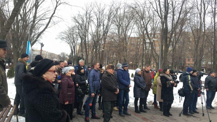 В годовщину Дебальцевской трагедии криворожане почтили память Героев, погибших в борьбе с оккупантами (ФОТО, ВИДЕО), фото-15