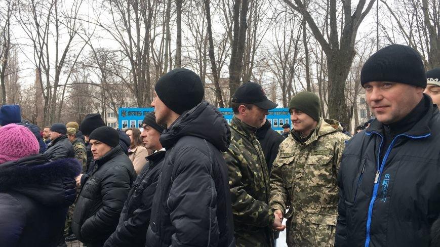 В годовщину Дебальцевской трагедии криворожане почтили память Героев, погибших в борьбе с оккупантами (ФОТО, ВИДЕО), фото-6