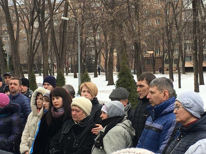 В годовщину Дебальцевской трагедии криворожане почтили память Героев, погибших в борьбе с оккупантами (ФОТО, ВИДЕО), фото-25