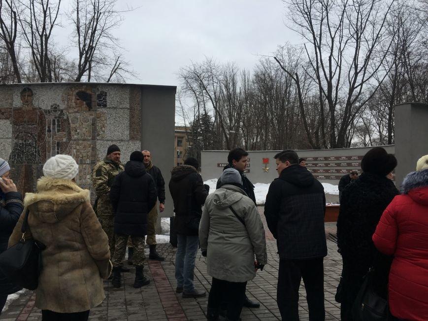 В годовщину Дебальцевской трагедии криворожане почтили память Героев, погибших в борьбе с оккупантами (ФОТО, ВИДЕО), фото-1