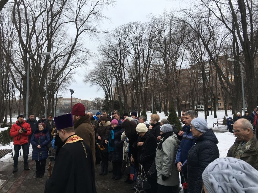 В годовщину Дебальцевской трагедии криворожане почтили память Героев, погибших в борьбе с оккупантами (ФОТО, ВИДЕО), фото-21