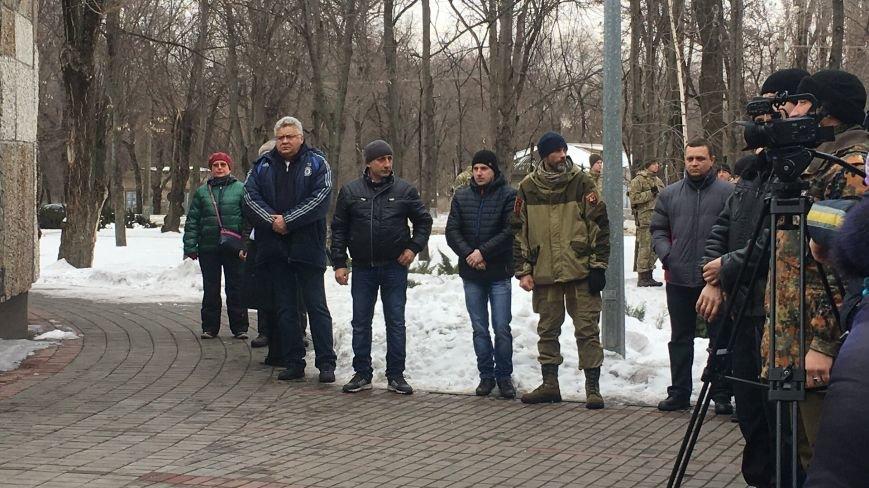 В годовщину Дебальцевской трагедии криворожане почтили память Героев, погибших в борьбе с оккупантами (ФОТО, ВИДЕО), фото-5