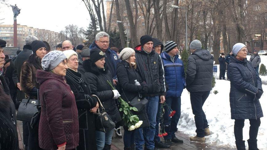 В годовщину Дебальцевской трагедии криворожане почтили память Героев, погибших в борьбе с оккупантами (ФОТО, ВИДЕО), фото-19