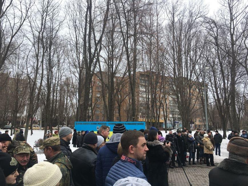 В годовщину Дебальцевской трагедии криворожане почтили память Героев, погибших в борьбе с оккупантами (ФОТО, ВИДЕО), фото-14