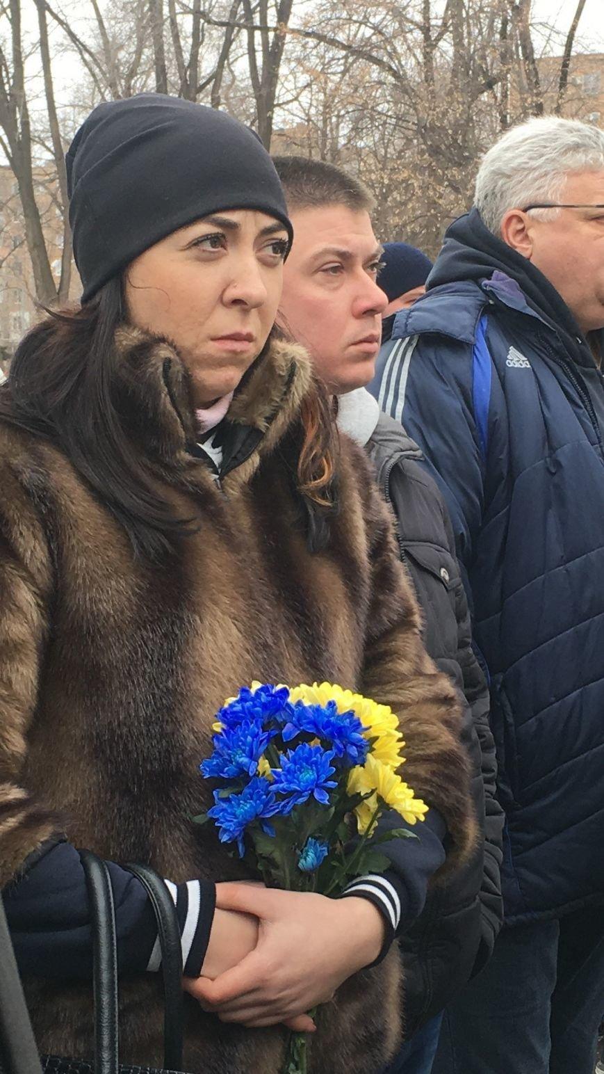 В годовщину Дебальцевской трагедии криворожане почтили память Героев, погибших в борьбе с оккупантами (ФОТО, ВИДЕО), фото-9