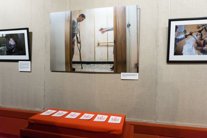 Фотовыставка «Раны» открылась сегодня в каменском музее истории, фото-5