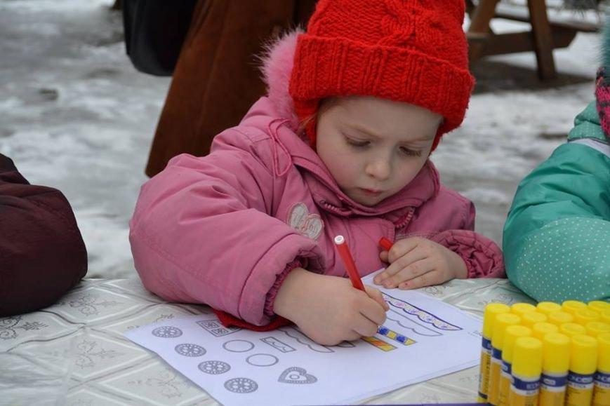 Как в зимнем парке горожане бумажные шедевры мастерили, фото-3