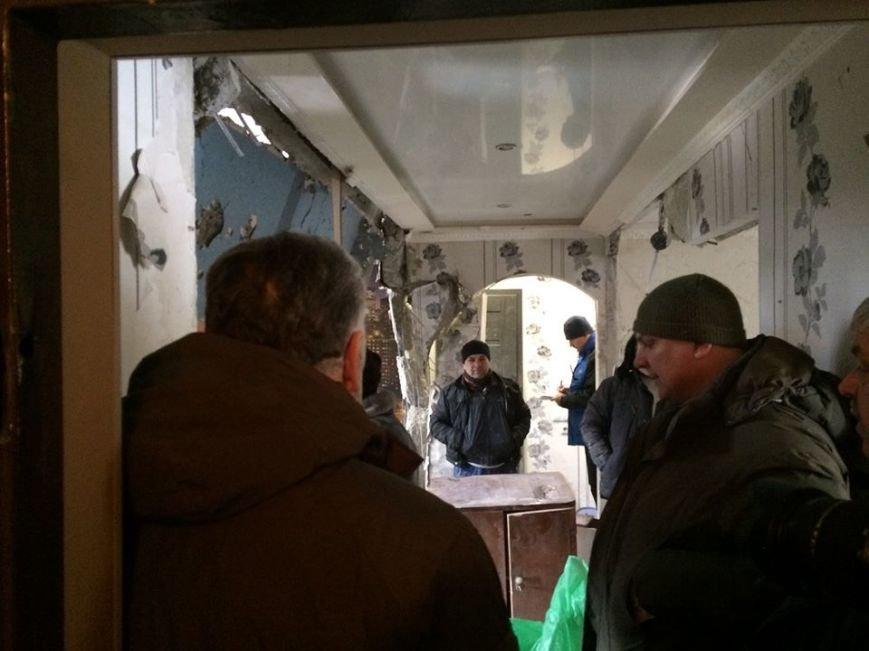 Жебривский  проинспектировал  пострадавшие от обстрелов городские объекты (ФОТОФАКТ), фото-3