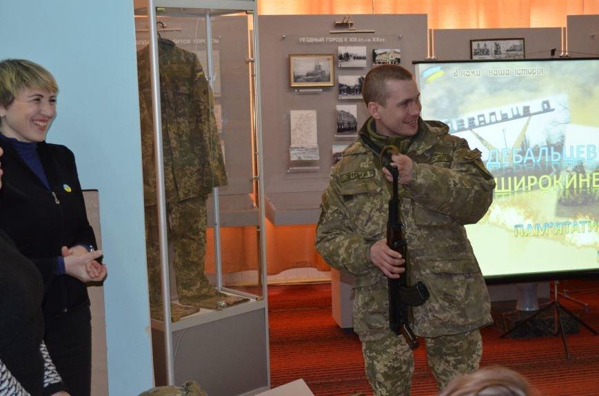 Мелитопольским гимназистам рассказали о жестоких боях за Дебальцево, фото-3