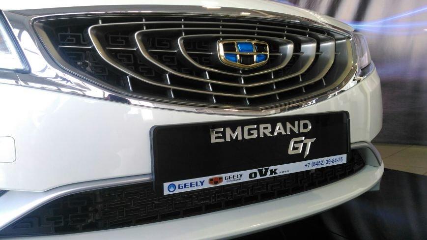 Презентация нового седана бизнес класса Geely Emgrand GT, фото-4