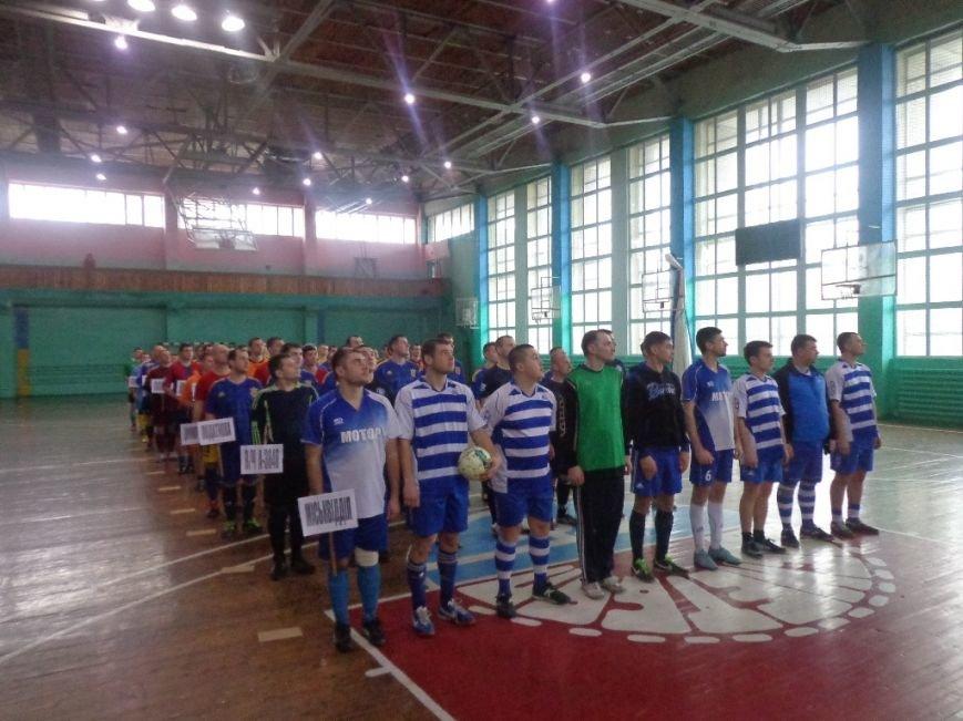 Команда мелитопольских спасателей забрала главный трофей в турнире по футзалу, фото-2