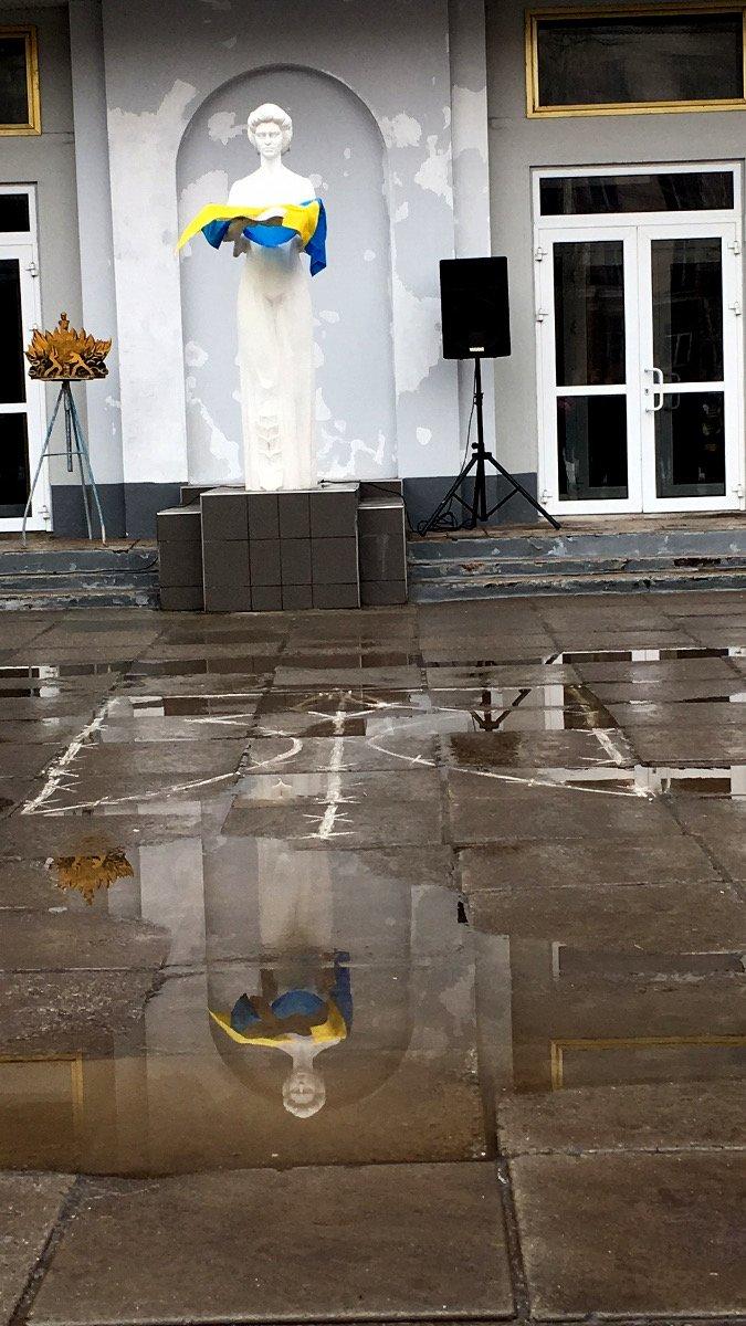 В Кривом Роге студенты и педагоги почтили память Героев Небесной Сотни (ФОТО), фото-30