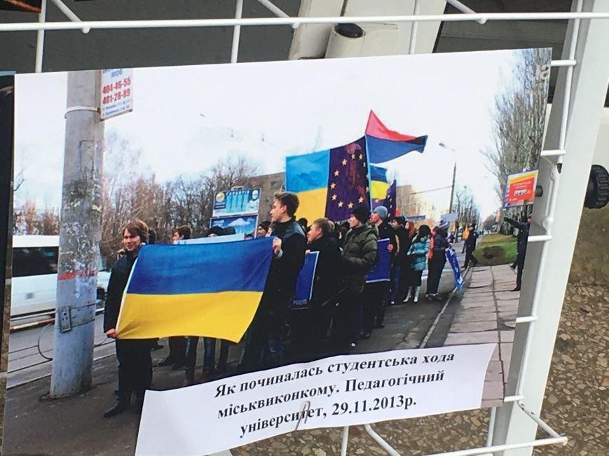 В Кривом Роге студенты и педагоги почтили память Героев Небесной Сотни (ФОТО), фото-9
