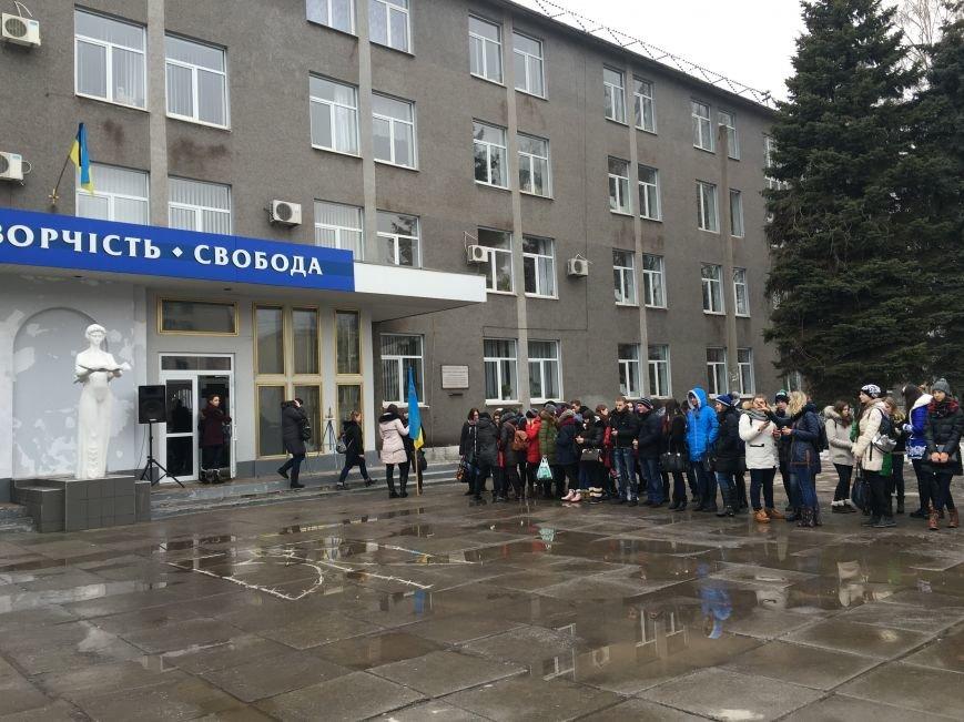 В Кривом Роге студенты и педагоги почтили память Героев Небесной Сотни (ФОТО), фото-16