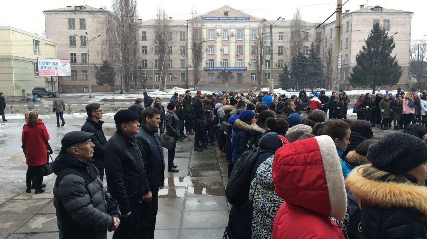 В Кривом Роге студенты и педагоги почтили память Героев Небесной Сотни (ФОТО), фото-20