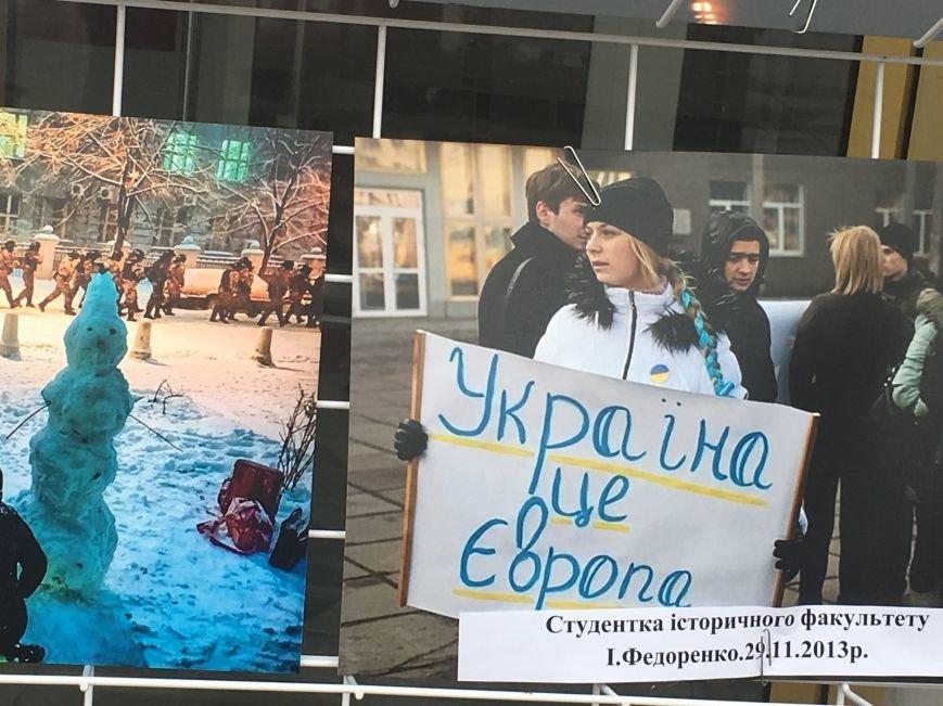 В Кривом Роге студенты и педагоги почтили память Героев Небесной Сотни (ФОТО), фото-10