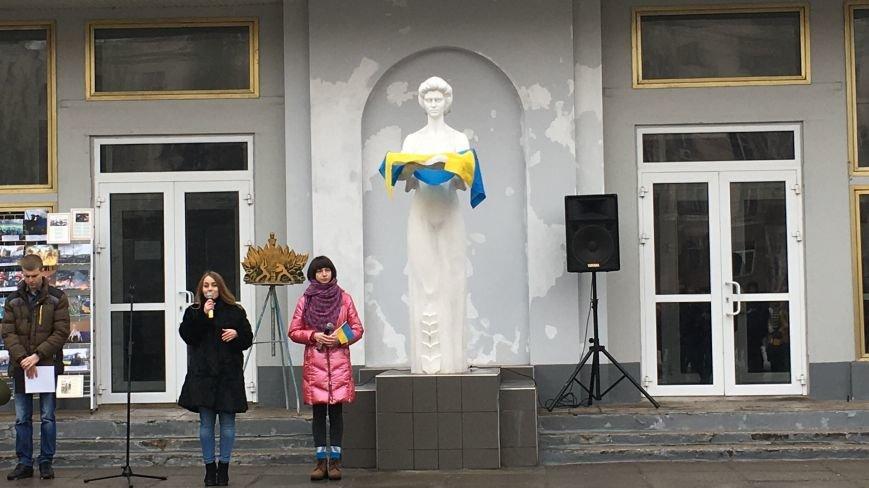 В Кривом Роге студенты и педагоги почтили память Героев Небесной Сотни (ФОТО), фото-26