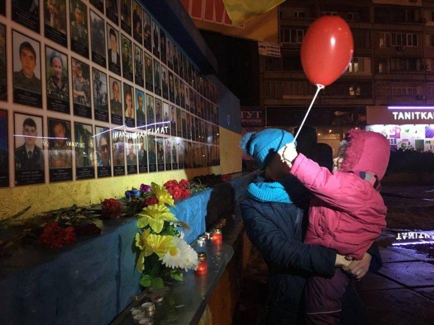От Евромайдана до Революции достоинства, - криворожане вспомнили историчесике дни и почтили память Героев (ФОТО), фото-12