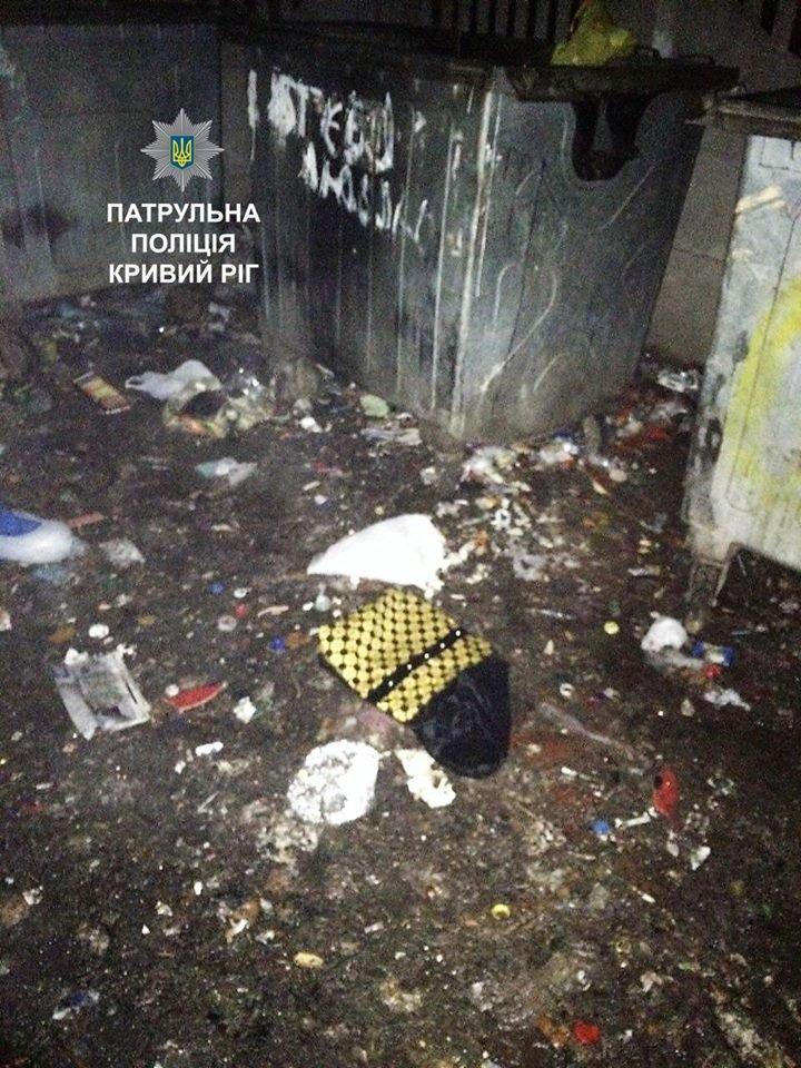 """Двое грабителей напали на криворожанку, а потом выбросили часть """"наживы"""" (ФОТО), фото-1"""