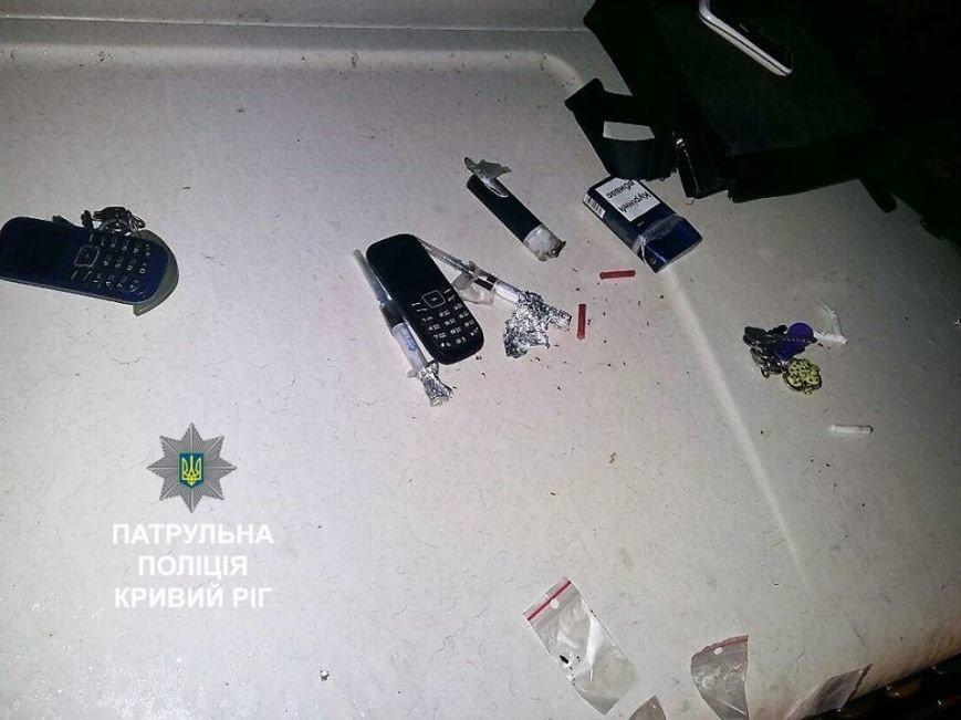 Криворожанин в наркотическом опьянении катался по ночному городу и нарушал ПДД (ФОТО), фото-4