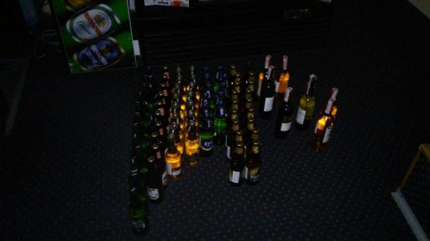 В каменском бильярдном клубе изъяли алкоголь без лицензии, фото-1