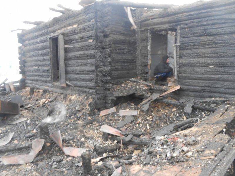 Ночью под Ульяновском полностью сгорел дом. ФОТО, фото-2