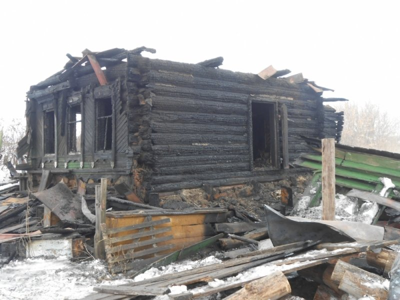 Ночью под Ульяновском полностью сгорел дом. ФОТО, фото-3
