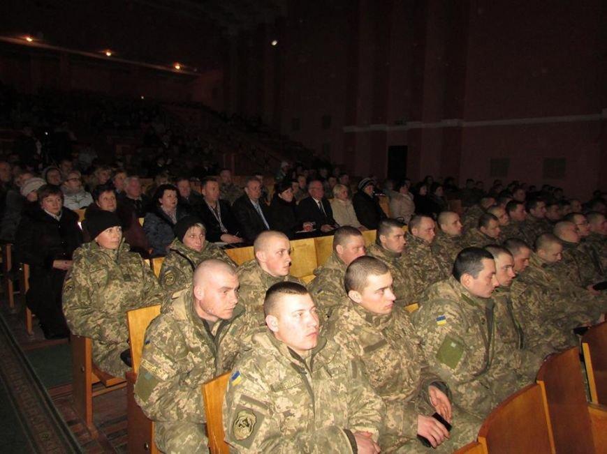 У Новограді-Волинському відбувся тематичний вечір, присвячений річниці Небесної Сотні, фото-5
