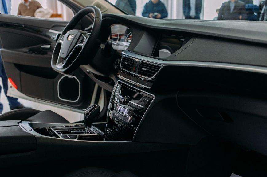 Ломая стереотипы. В Белгороде презентовали новый седан бизнес-класса Geely Emgrand GT, фото-1