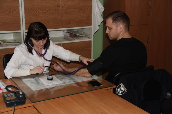 Черниговские полисмены сдали кровь для раненых бойцов, фото-4