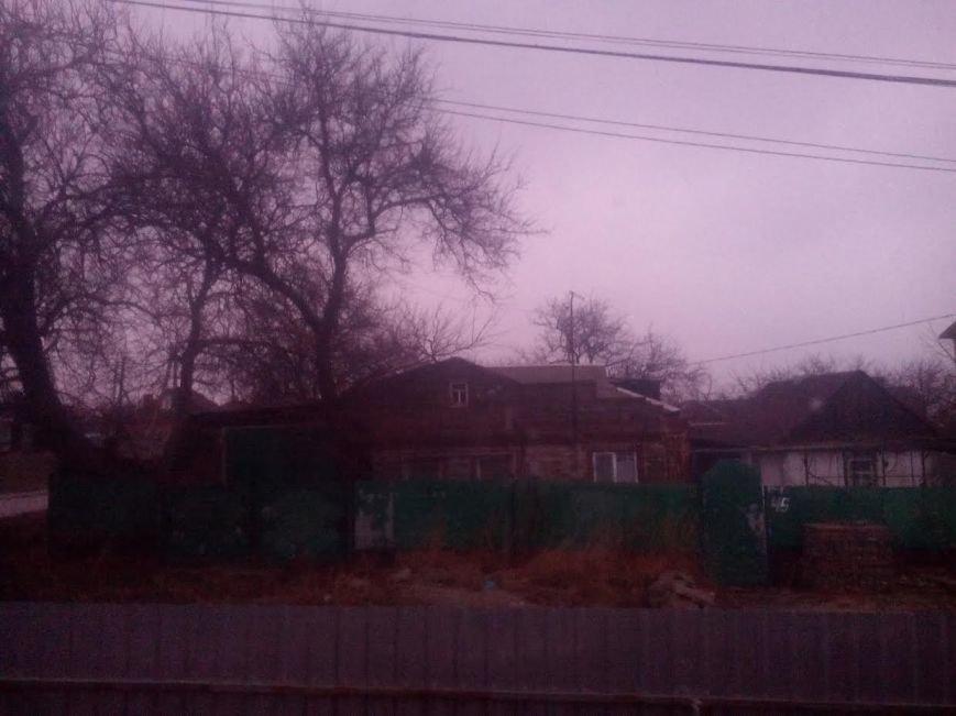 Мариупольцы несколько минут наблюдали зимний  розовый вечер (Фотофакт), фото-2