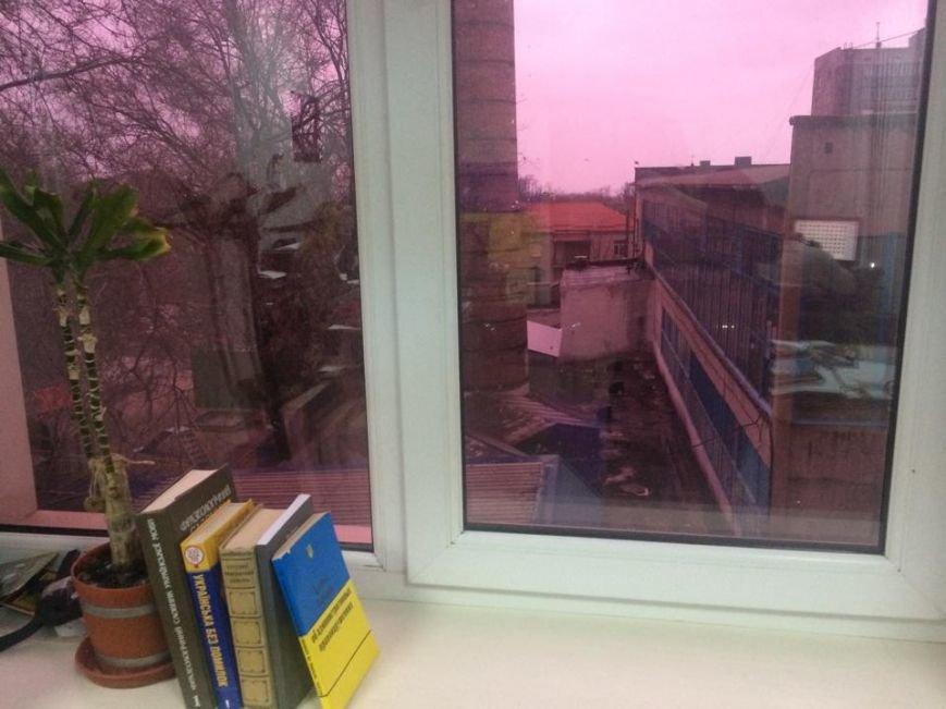 Мариупольцы несколько минут наблюдали зимний  розовый вечер (Фотофакт), фото-3