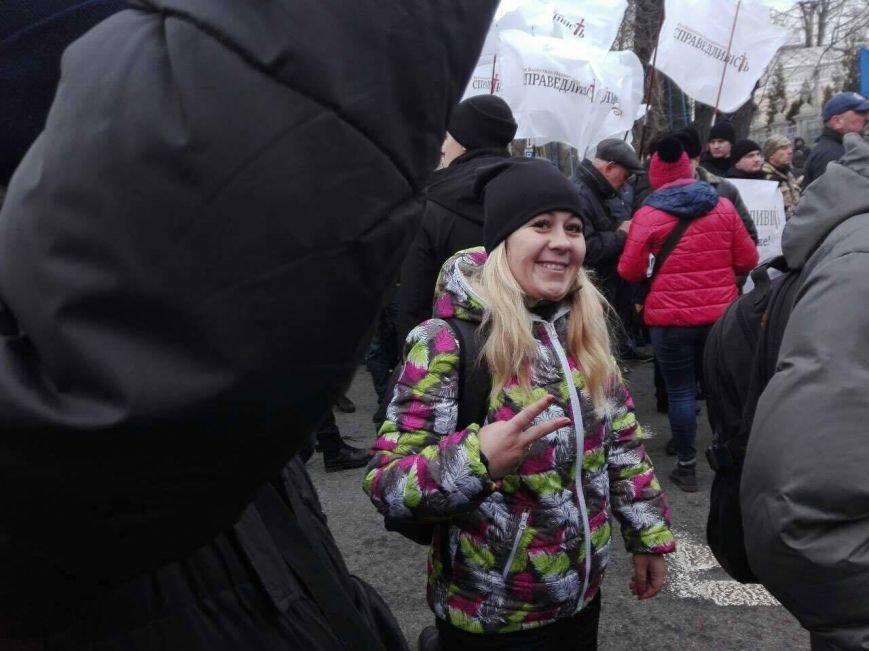 Криворожане присоединились к Маршу национального единства, где выдвинули ультиматум Президенту (ФОТО), фото-11