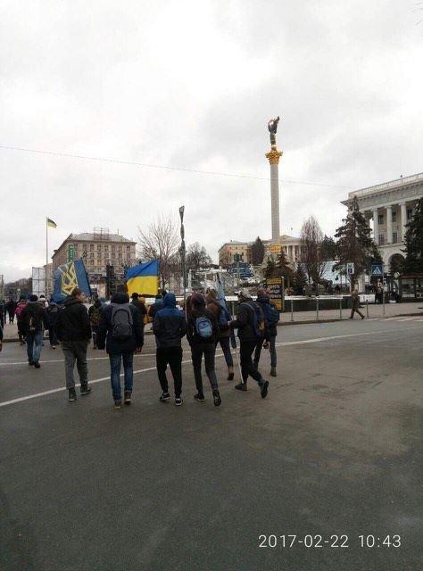 Криворожане присоединились к Маршу национального единства, где выдвинули ультиматум Президенту (ФОТО), фото-15