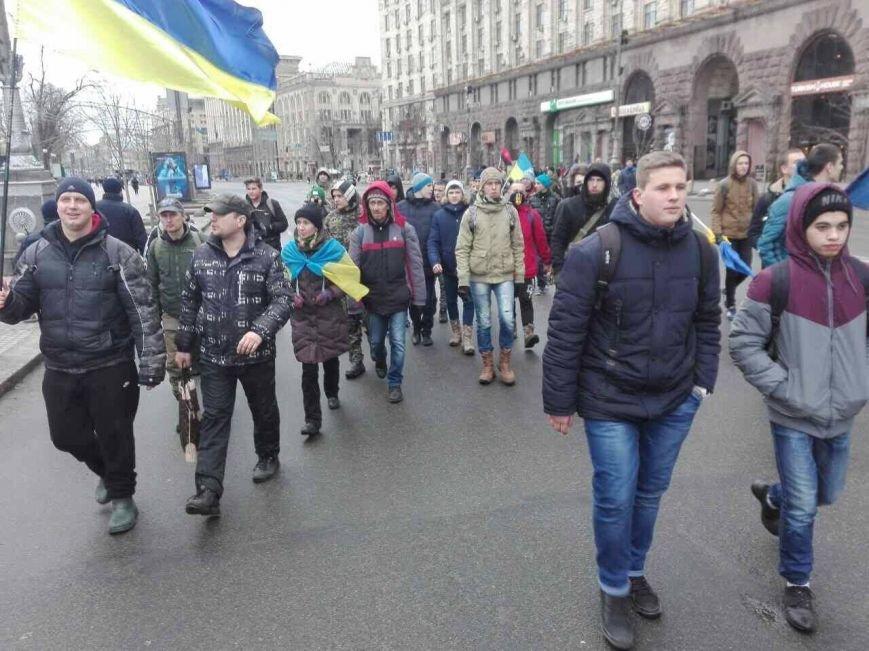 Криворожане присоединились к Маршу национального единства, где выдвинули ультиматум Президенту (ФОТО), фото-14