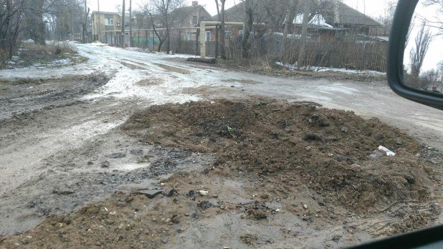 В яму, оставленную коммунальными службами Кривого Рога, провалился хлебовоз (ФОТО), фото-3