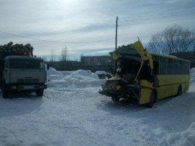 На Камчатке пассажирский автобус влетел в лесовоз – пострадали 22 человека, фото-3