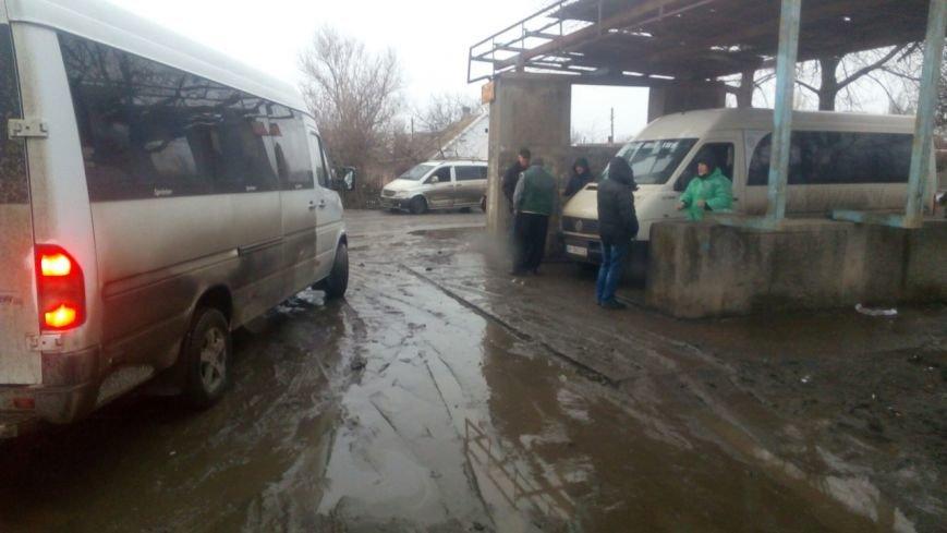 Мелитополь утопает в грязи после дождей, фото-1