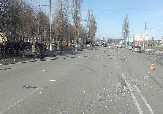 На проспекті Грушевського сталась ДТП, фото-1