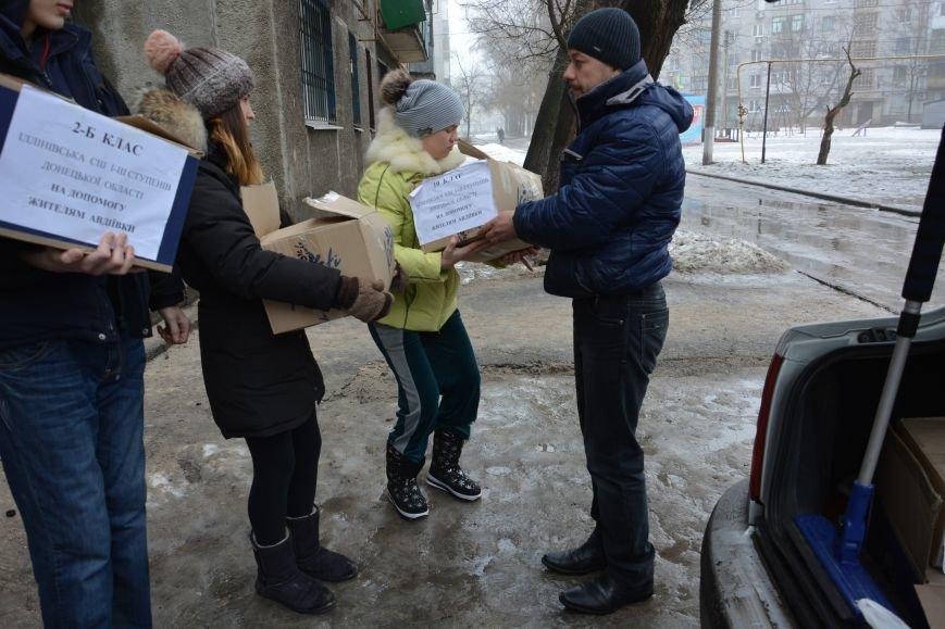 Школьники из Ильиновки  переживают за жителей Авдеевки (ФОТО), фото-2